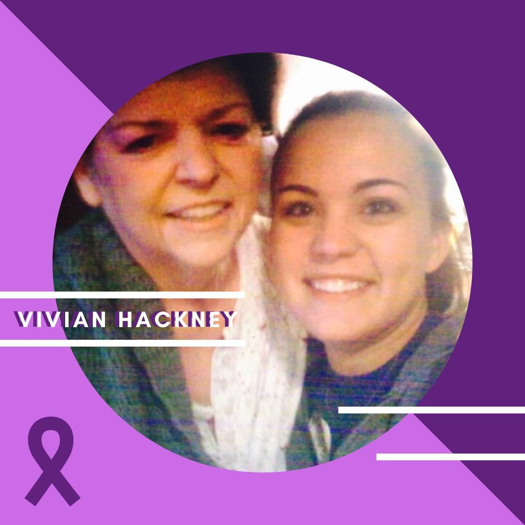 Vivian Hackey #CureALZ story