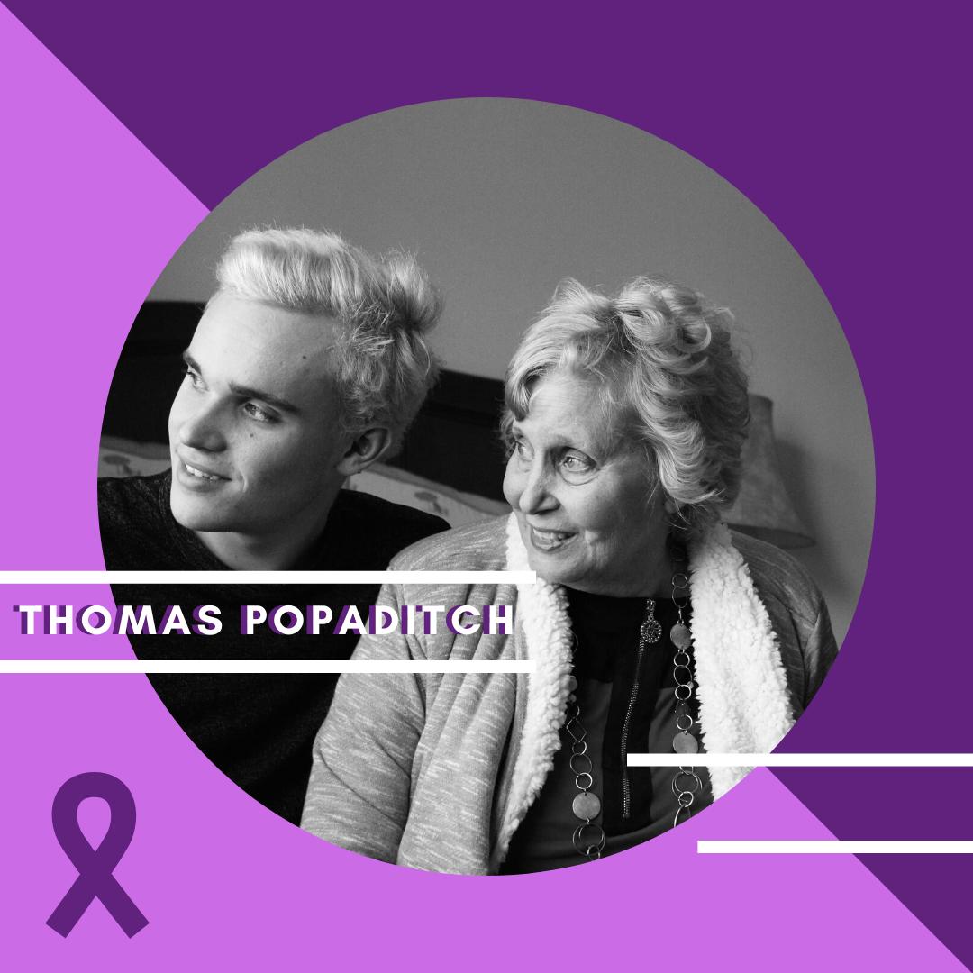 Thomas Popaditch #curealz story